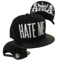 Hate Me Faux Leather Snapback : ATLA : MerchNOW - Your Favorite Band Merch, Music and More
