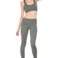 Dark Grey Workout Leggings