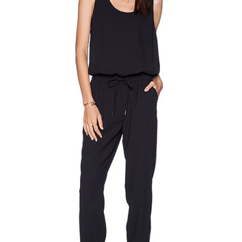 Joie Mardalina Jumpsuit in Black