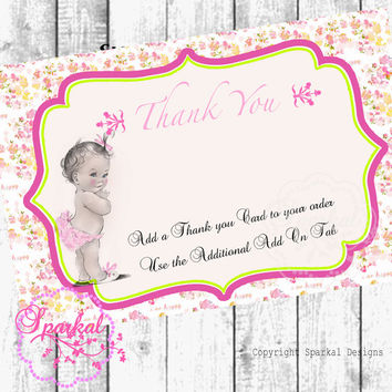 Shop Babys First Birthday Invitations On Wanelo - Vintage girl birthday invitation
