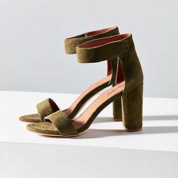 Jeffrey Campbell Lindsay Suede Heel | Urban Outfitters