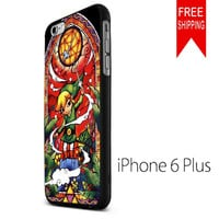 Stained Glass Legend of Zelda US iPhone 6 Plus Case