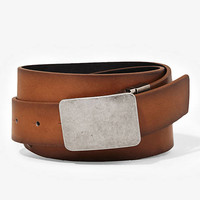 2-IN-1 REVERSIBLE CASUAL LEATHER BELT from EXPRESS