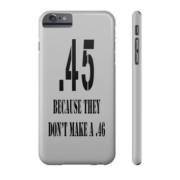 .45 No .46 Cell Phone Case