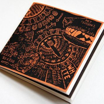 Limited Edition Dog Notebook 'Teeth' Design by kissthefuture