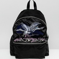 Eastpak Padded Pak'r Sukajan Crane Backpack at asos.com