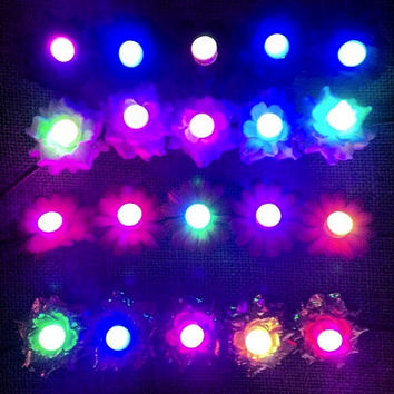 ADD LIGHTS to your Rave Bra or Flower Crown *not for individual sale*