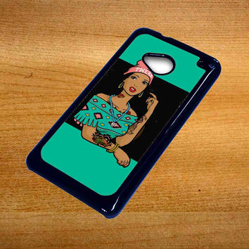 Pocahontas Hipster For Htc One M7 Case *76*
