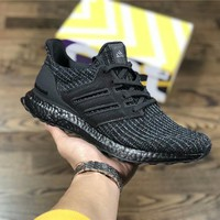 Adidas Ultra Boost4.0 black Size:36-45