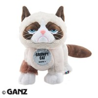 Webkinz Grumpy Cat with Trading Cards
