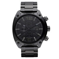 Diesel DZ4223 Men's Black Ion Plated Stainless Steel Black Dial Chronograph Watch