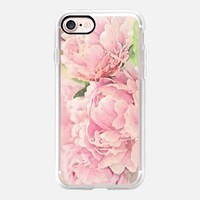 Pink Peonies iPhone 7 Case by Lisa Argyropoulos | Casetify
