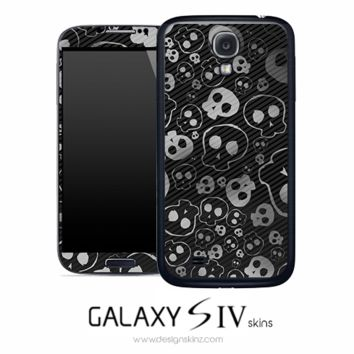 Weird Skulls Skin for the Galaxy S4
