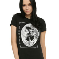 Motionless In White Skeleton Portrait Girls T-Shirt