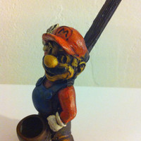 Tobacco Hand Made Pipe, Mario Design