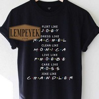 Friends Tv Show T-shirt Men And Women, Youth Size S-XL