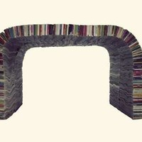 Upcycled Paper Furniture - The Magazine Bench is a Page-Turning Place to Rest (GALLERY)