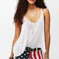 America Cutoff Shorts in  Collections Star Struck at Nasty Gal