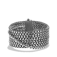 Box Chain Eight-Row Bracelet - David Yurman - Silver