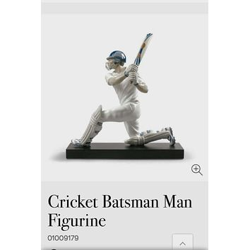 Cricket Batsman Man Figurine by Lladro 01009179