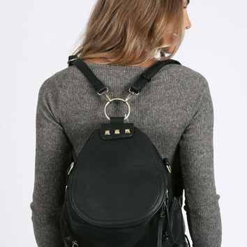 Jackson Vegan Leather Backpack | Threadsence