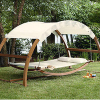 Day Bed Outdoor Patio Lounge Hammock For Backyard