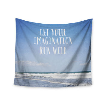 "Susannah Tucker ""Let Your Imagination Run Wild"" Ocean Wall Tapestry"