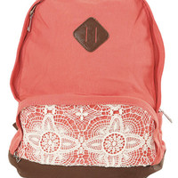 Crochet Pocket Backpack | Shop Just Arrived at Wet Seal