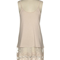 Natural Lace Tunic