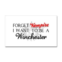 Supernatural Decal on CafePress.com