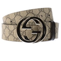 Gucci Belt Sz. 105 Made In Italy Man Beige 411924KGDHN-9643 PUT OFFER
