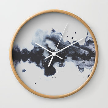 To Say Goodbye Wall Clock by DuckyB