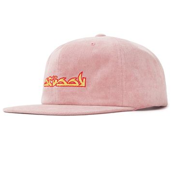No Wale Cord Cap in Pink