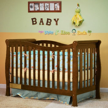 AFG Nadia 3 in 1 Convertible Crib