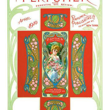 American Perfumer and Essential Oil Review, April 1910 20x30 poster