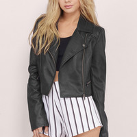 Ride It Out Moto Jacket $64