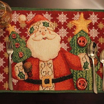 Tache Santa Clause Is Coming to Town Placemat