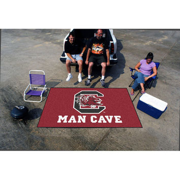 South Carolina Gamecocks NCAA Man Cave Ulti-Mat Floor Mat (60in x 96in)