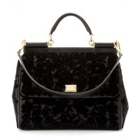 dolce & gabbana - miss sicily grande shoulder bag