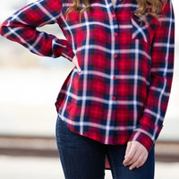 Stories by the Fire Plaid Flannel