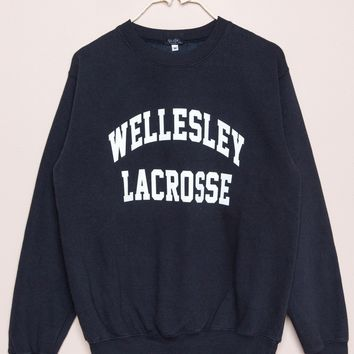 Erica Wellesley Lacrosse Sweatshirt - Prints - Graphics