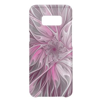 Fractal Pink Flower Dream, Floral Fantasy Pattern Get Uncommon Samsung Galaxy S8 Case