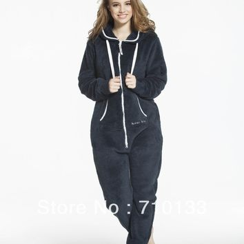 one piece jumpsuit all-in-one suit unisex adult Onesuits fleece jump in suit all-in-one piece teddy fleece