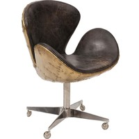 Devon Desk Leather Chair - Chairs - Office - Furniture