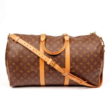 Louis Vuitton Keepall Weekend/Travel Bag 5593 (Authentic Pre-owned)