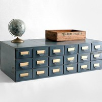 Vintage Metal Card Catalog Mid Century Modern by Hindsvik on Etsy
