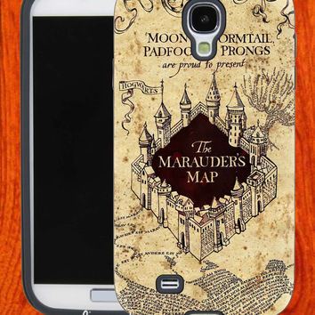 Harry Potter Marauders Map,Accessories,Case,Cell Phone,iPhone 4/4S,iPhone 5/5S/5C,Samsung Galaxy S3,Samsung Galaxy S4,Rubber,27-11-24-Hk