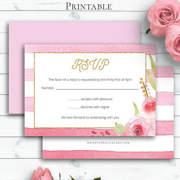 Customized Wedding Insert Card, Wedding RSVP Card, Enclosure Card, Information Card, DIY Response Card, RSVP Enclosure, Invitation Insert