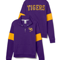 Louisiana State University Bling Half-Zip Pullover