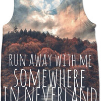 All Time Low SomeWhere In NeverLand Tank Top